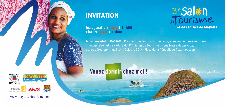 Mayotte- Le salon du Tourisme sous le thème  » Venez dormir chez moi »
