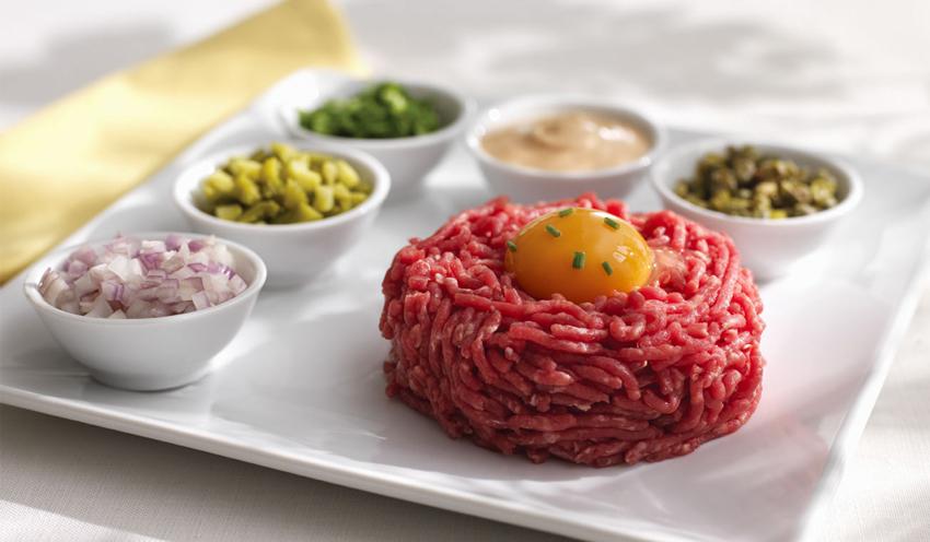 Les r gles d 39 hygi ne respecter pour proposer de la viande hach e tartares - Tartare de boeuf cyril lignac ...