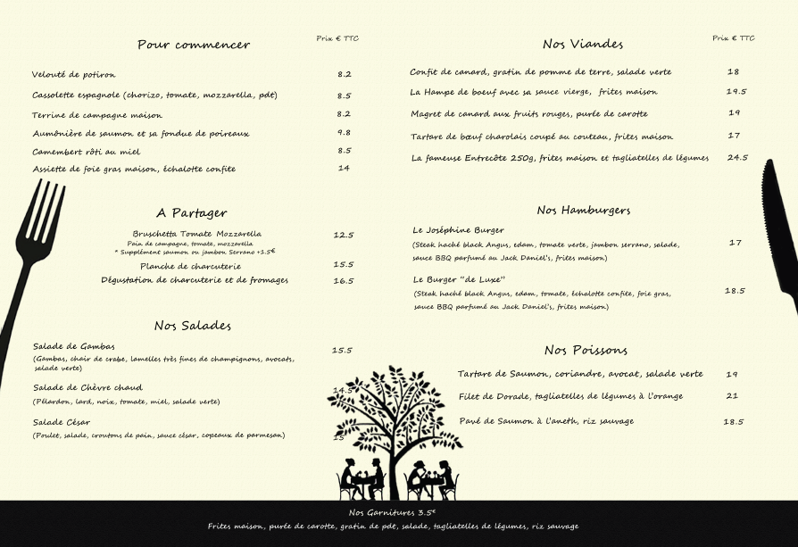Restaurant Nombreux Original Paris