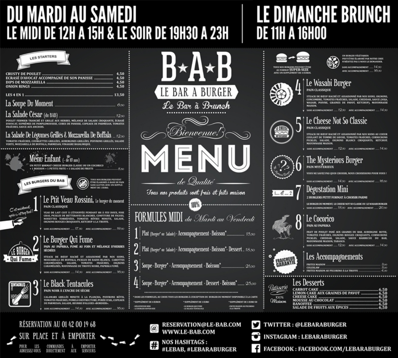 Faire Une Carte De Restaurant Chic