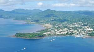 Le lagon de Mayotte