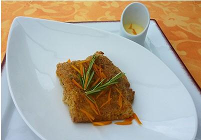 You are currently viewing Dos de cabillaud en croûte parfumée au beurre d'orange