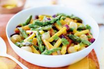 Poêlée de légumes à l'huile d'olive et balsamique