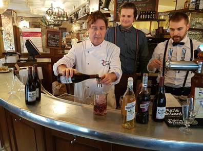 Des Maîtres Restaurateurs parisiens proposent le beaujolais nouveau en cocktail