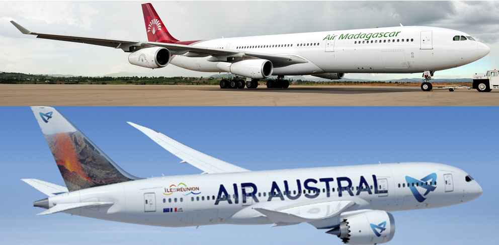 Air Madagascar et Air Austral ont signé