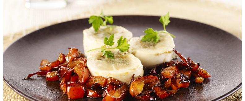 You are currently viewing Suprêmes de poulet farcis au caviar d'aubergines