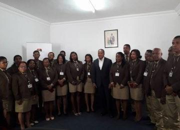 You are currently viewing Madagascar tourisme : Des contrôleurs en tenue et avec badges