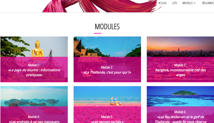 You are currently viewing La Thaïlande lance son premier e-learning