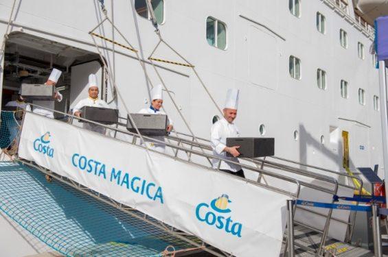 Finaliste du prix de l'OMT, Costa Croisières réduit son gaspillage alimentaire
