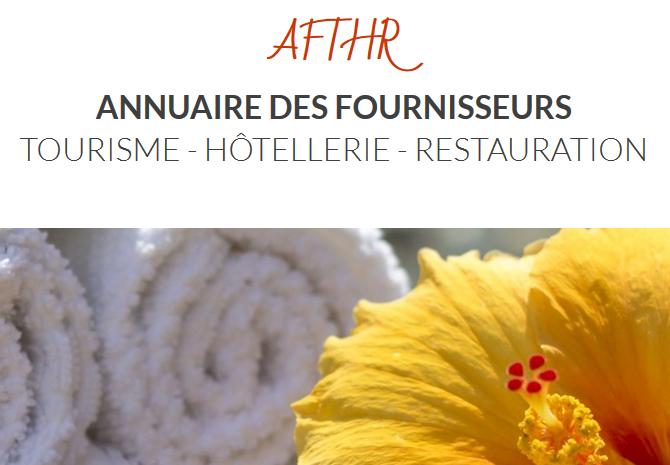 You are currently viewing AFTHR, le nouvel Annuaire des Fournisseurs Tourisme Hôtellerie Restauration