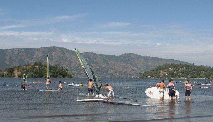 Au Chili, un lac très touristique rayé de la carte