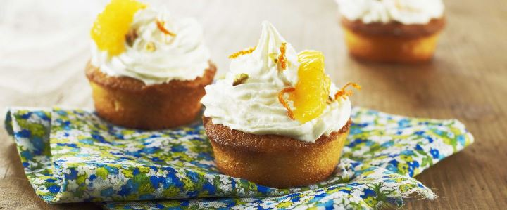You are currently viewing Cupcakes à la mandarine