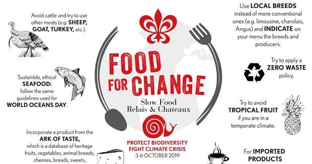 Les chefs Relais & Châteaux s'engagent pour Food For Change