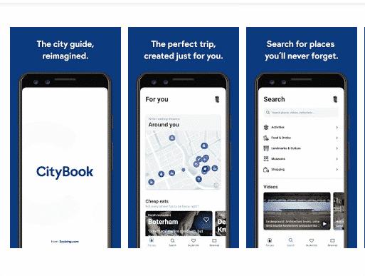 Avec l'appli City Book, Booking fait un pas de plus dans « l'expérience de voyage simplifiée »