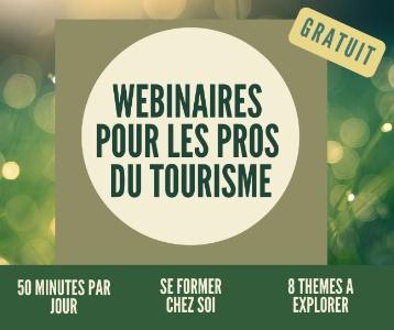 Notre partenaire François Tourisme Consultants lance une série de webinaires gratuits