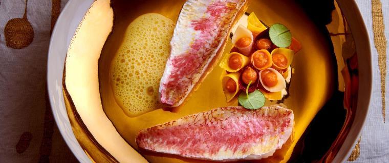 You are currently viewing Rouget à la sauce au citron et purée de carottes