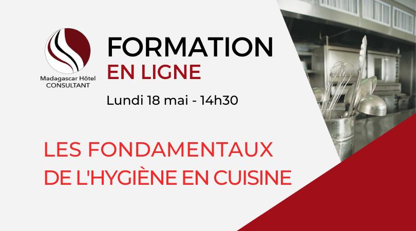 Formation en ligne : Les fondamentaux de l'hygiène en cuisine