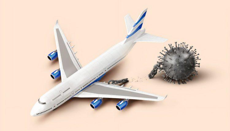 Covid-19 : les risques de contamination en avion plus faibles que prévu