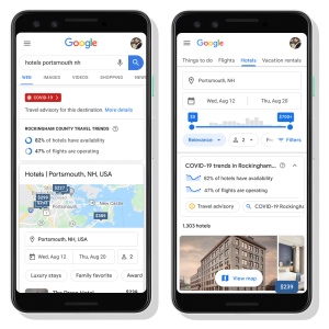 Corovavirus : Google Travel propose de nouvelles fonctionnalités pour mieux informer les voyageurs