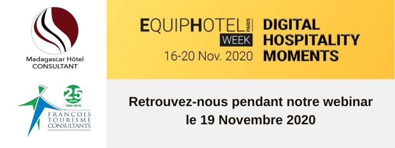 Equip Hotel Week : Retrouvez Philippe-Jean ARNOU pour un webinaire sous le signe du développement durable