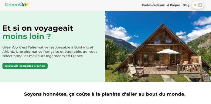 """France : GreenGo dévoile sa plateforme, une alternative """"responsable"""" à Booking et Airbnb"""