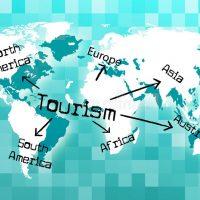 le-tourisme-mondial-montre-vacationing-de-touristes-et-voyage-44993084