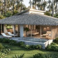 Voilà à quoi pourrait ressembler PlantLife, le premier resort vegan, qui pourrait voir le jour en Thaïlande.